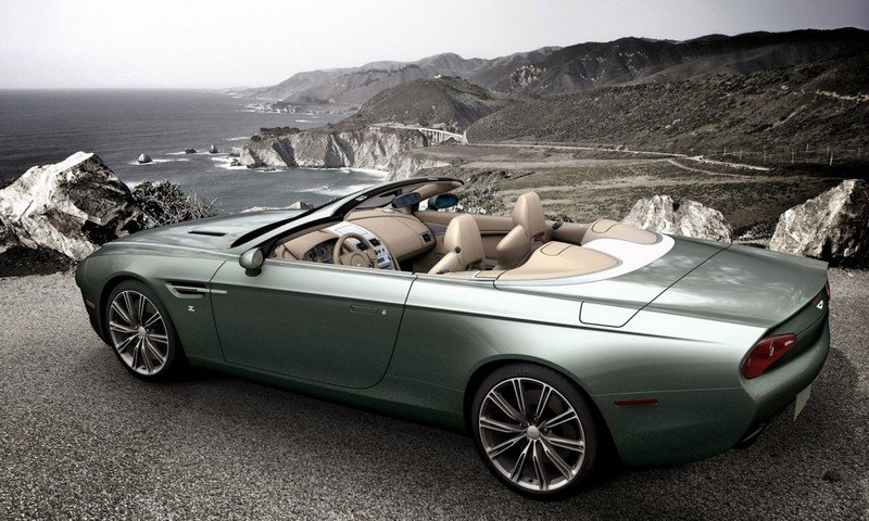 2014 Aston Martin DB9 Spyder Zagato Centennial High Resolution Exterior - image 515951