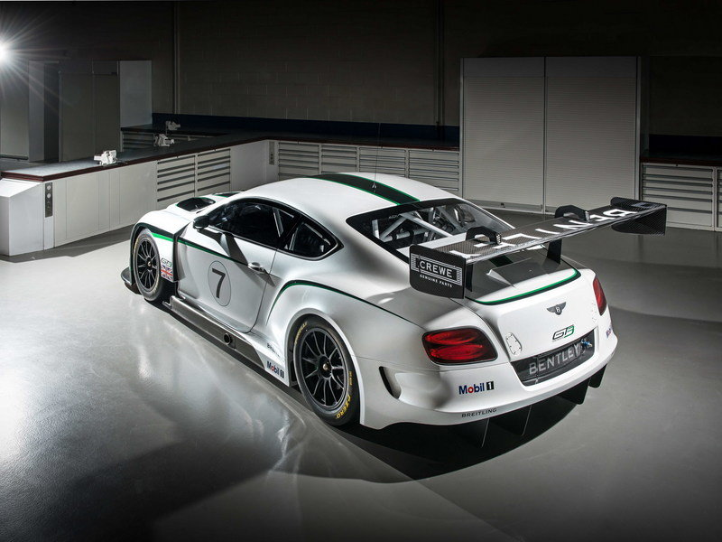 2014 Bentley Continental GT3 Race Car High Resolution Exterior - image 514767