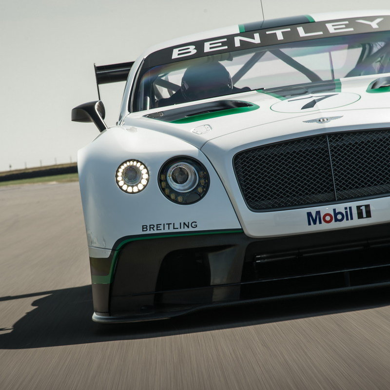 Bentley 2014: 2014 Bentley Continental GT3 Race Car