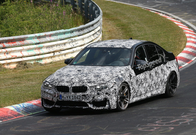 Spy Shots: 2014 BMW M3 Shows off at Nurburgring