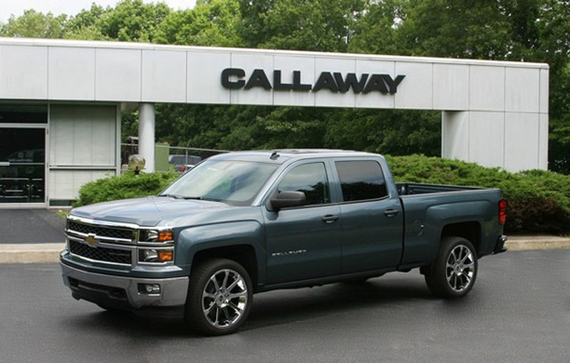 2014 Callaway Silverado High Resolution Exterior - image 514033