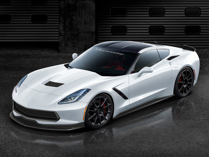 2014 Chevrolet Corvette Stingray C7 by Hennessey High Resolution Exterior Wallpaper quality - image 515226