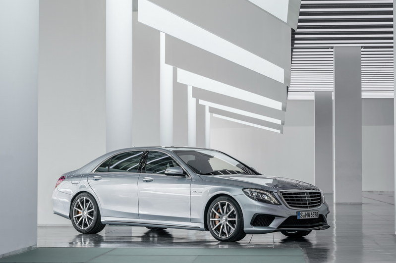 2014 Mercedes-Benz S63 AMG 4MATIC High Resolution Exterior - image 515422