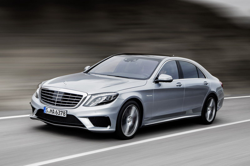 2014 Mercedes-Benz S63 AMG 4MATIC High Resolution Exterior - image 515397