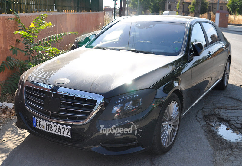 2016 Mercedes-Maybach S-Class Exterior Spyshots - image 515872