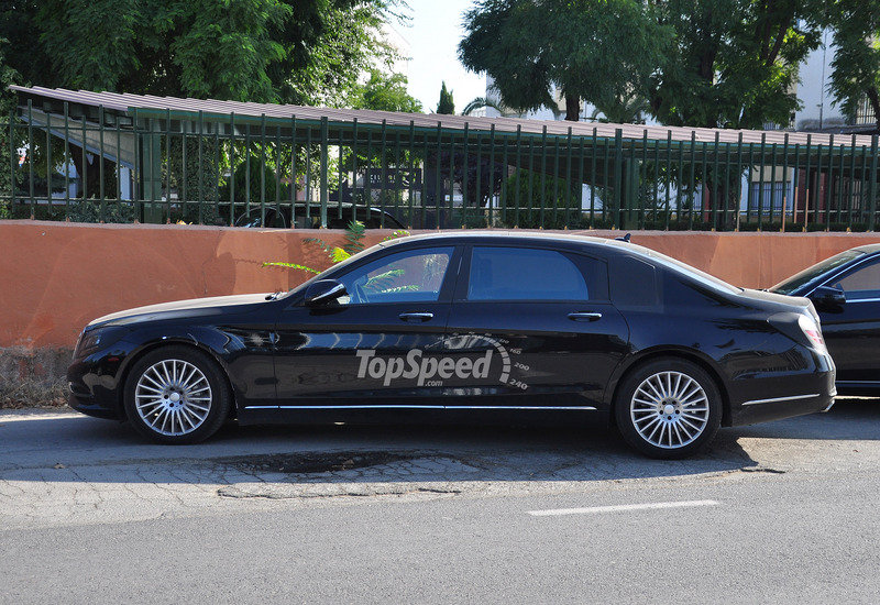 2016 Mercedes-Maybach S-Class Exterior Spyshots - image 515874