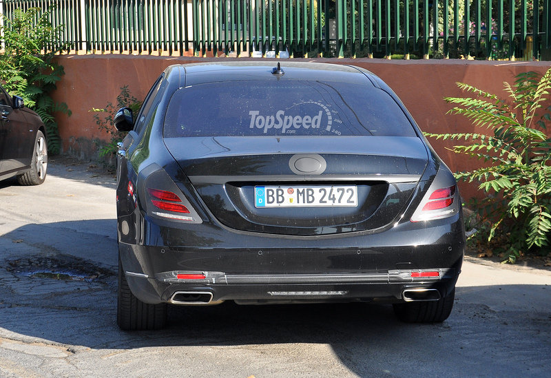 2016 Mercedes-Maybach S-Class Exterior Spyshots - image 515877