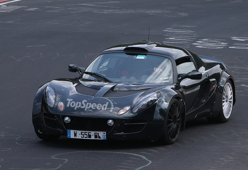 Spy Shots: Renault Alpine Mule Caught in Lotus Clothing