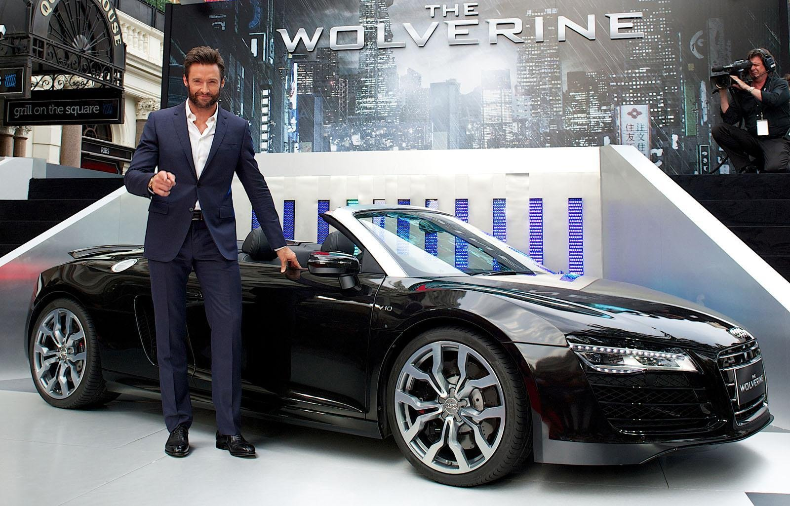 Fast Lane Cars >> Audi R8 Spyder Trades Iron Man For Wolverine In Latest ...