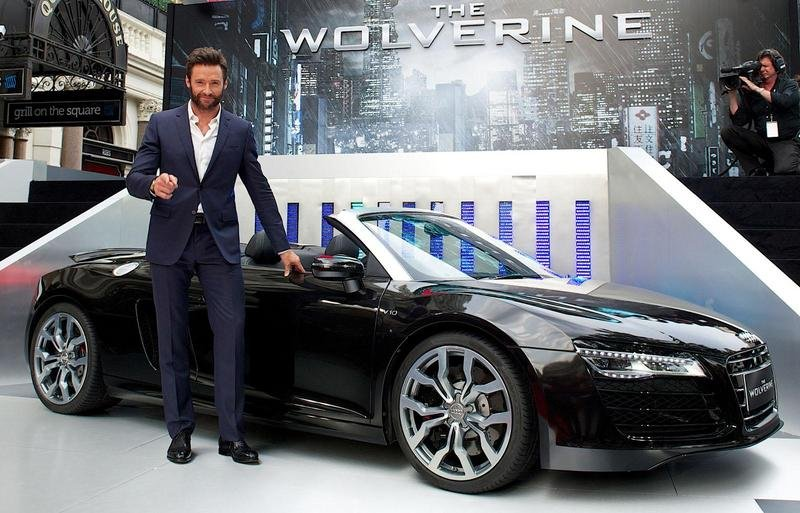 Audi R8 Spyder Trades Iron Man for Wolverine in Latest Audi-Marvel Tie-Up