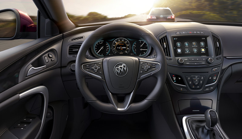 2014 Buick Regal GS AWD | Top Speed