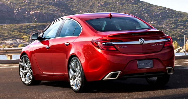 2014 Buick Regal GS AWD High Resolution Exterior - image 513755