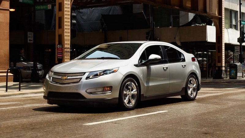 2014 Chevrolet Volt High Resolution Exterior - image 516421
