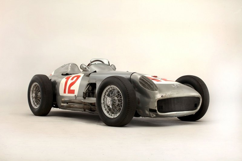Fangio's Mercedes Race Car Sells for $30 Million at Goodwood High Resolution Exterior - image 514886