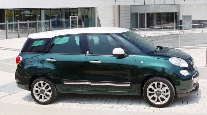 2014 Fiat 500L Living High Resolution Exterior - image 514051