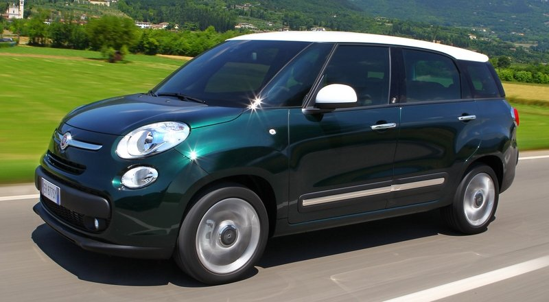 2014 Fiat 500L Living High Resolution Exterior - image 514053