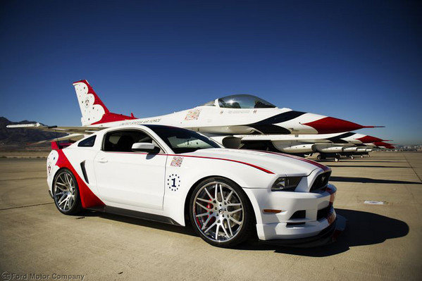 2014 Ford Mustang Gt Thunderbirds Edition Review Top Speed