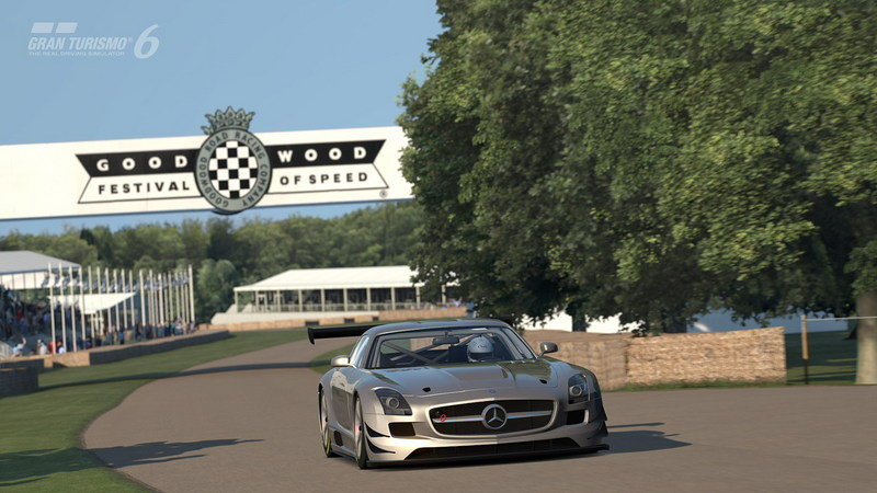Gran Turismo 6 Will Feature Goodwood Hill Climb Track