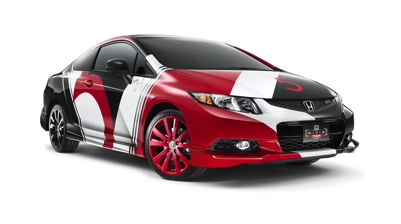 2013 Honda Civic Si Coupe by Maroon 5