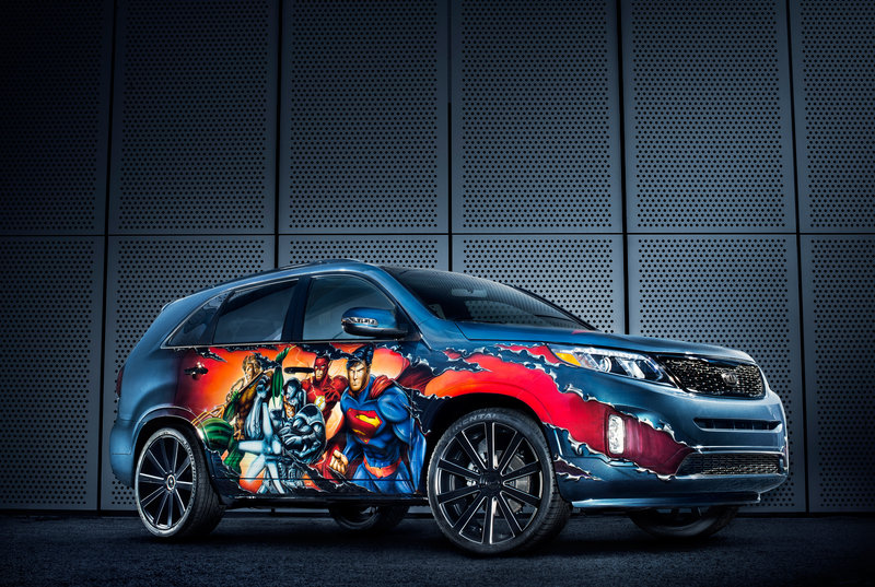 "2013 Kia Sorento ""Justice League"" by West Coast Customs High Resolution Exterior - image 515657"