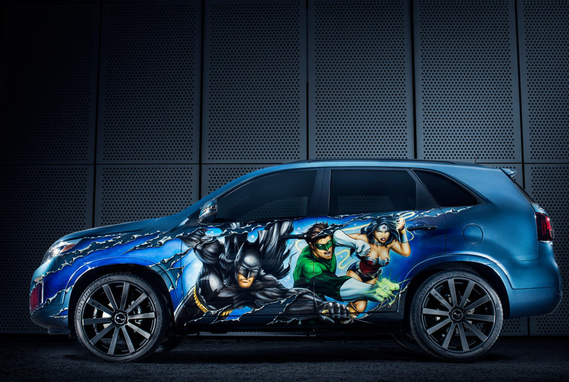 "2013 Kia Sorento ""Justice League"" by West Coast Customs High Resolution Exterior - image 515660"