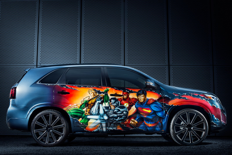 "2013 Kia Sorento ""Justice League"" by West Coast Customs High Resolution Exterior - image 515663"
