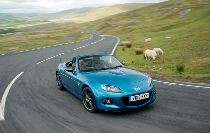2013 Mazda MX-5 Sport Graphite High Resolution Exterior Wallpaper quality - image 514495