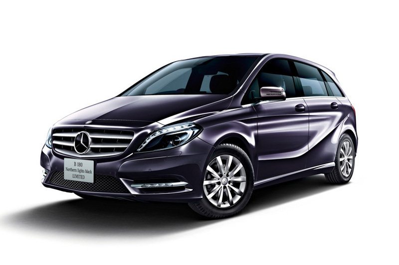 2013 Mercedes B180 Northern Lights Black Special Edition