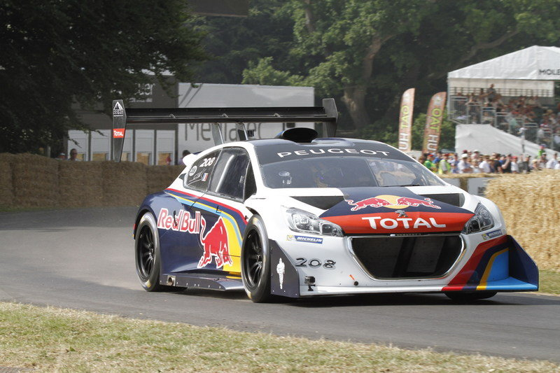 Peugeot 208 T16 Wins its Second Hill Climb of 2013 at Goodwood High Resolution Exterior - image 515477