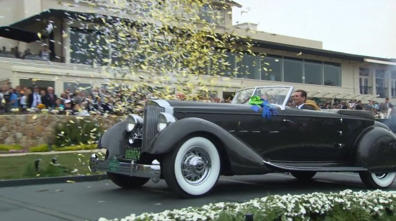 "1934 Packard 1108 Twelve Dietrich Convertible Victoria Takes ""Best in Show"" at Pebble Beach Exterior - image 519293"