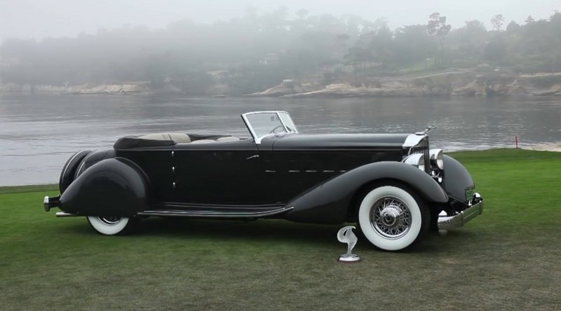 "1934 Packard 1108 Twelve Dietrich Convertible Victoria Takes ""Best in Show"" at Pebble Beach High Resolution Exterior - image 519295"