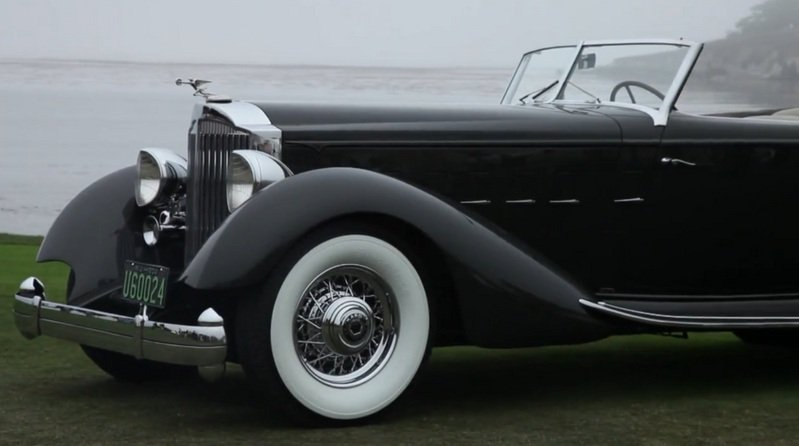 "1934 Packard 1108 Twelve Dietrich Convertible Victoria Takes ""Best in Show"" at Pebble Beach Exterior - image 519296"