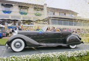 "1934 Packard 1108 Twelve Dietrich Convertible Victoria Takes ""Best in Show"" at Pebble Beach - image 519289"