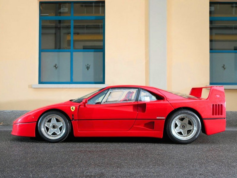1987 - 1992 Ferrari F40 High Resolution Exterior - image 519600