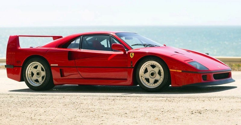 1987 - 1992 Ferrari F40 High Resolution Exterior - image 519628