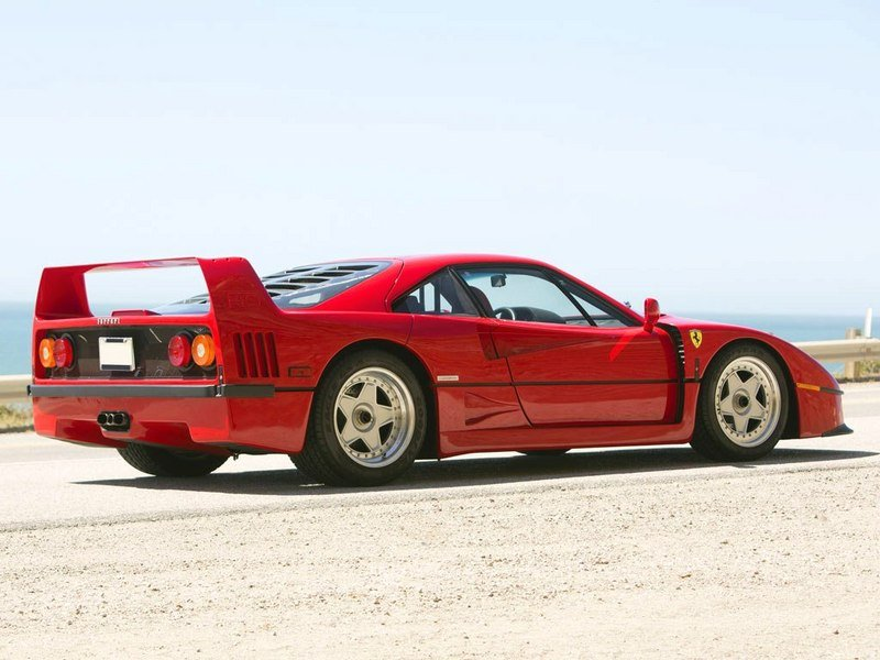 1987 - 1992 Ferrari F40 High Resolution Exterior - image 519593