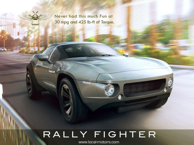 2013 Local Motors Rally Fighter Exterior - image 520070