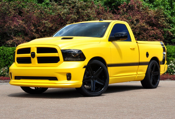 2014 Ram 1500 Rumble Bee Concept | car review @ Top Speed