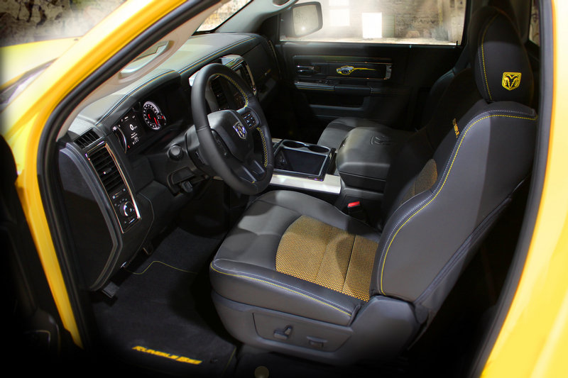 2014 Ram 1500 Rumble Bee Concept Interior - image 519278