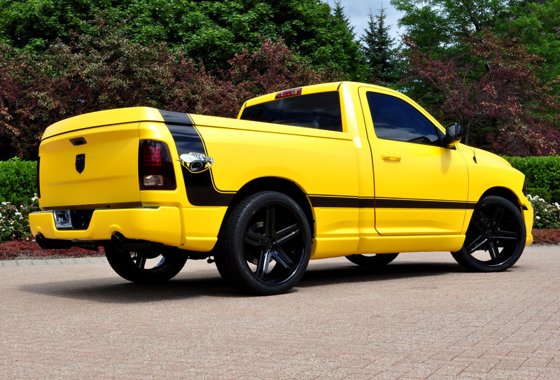 2014 Ram 1500 Rumble Bee Concept High Resolution Exterior - image 519279
