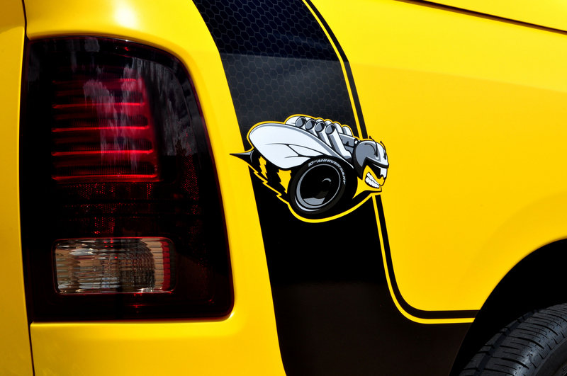 2014 Ram 1500 Rumble Bee Concept Emblems and Logo Exterior - image 519280