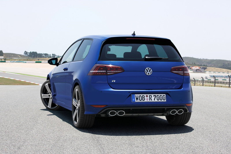 2014 Volkswagen Golf R High Resolution Exterior - image 519431