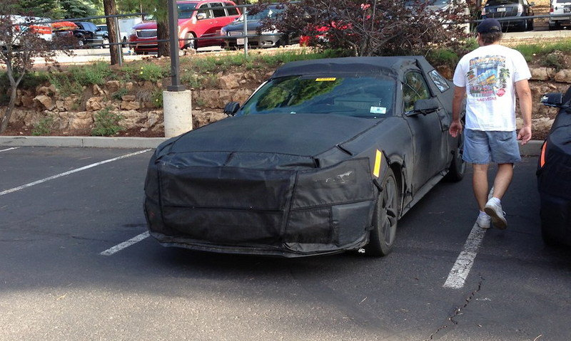 Spy Shots: 2015 Ford Mustang Caught in a Hotel Parking Lot