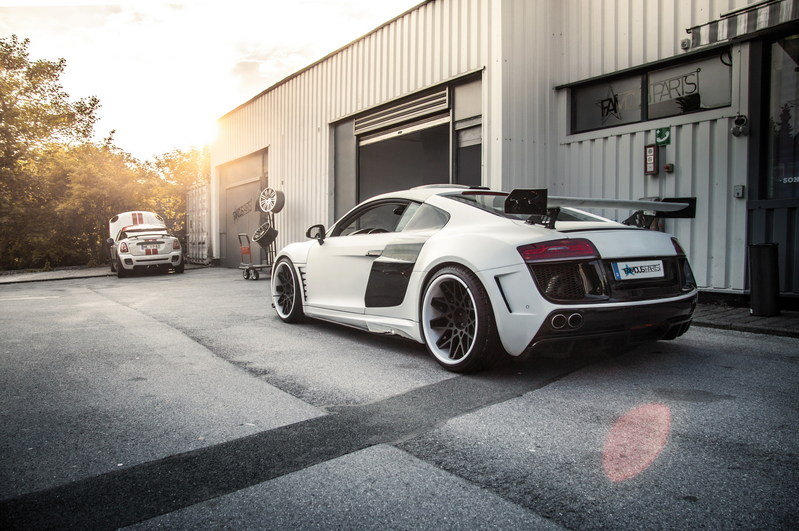 2014 Audi R8 PD-GT850 White Phoenix by Prior Design High Resolution Exterior - image 518256