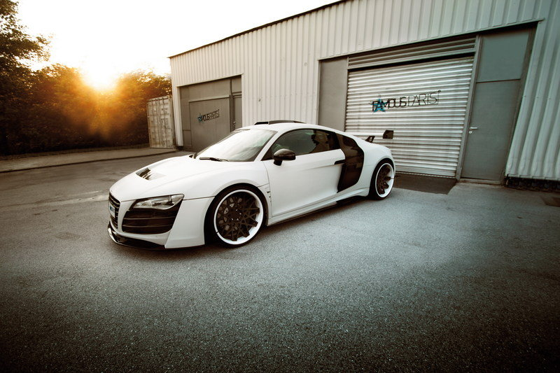 2014 Audi R8 PD-GT850 White Phoenix by Prior Design High Resolution Exterior - image 518257