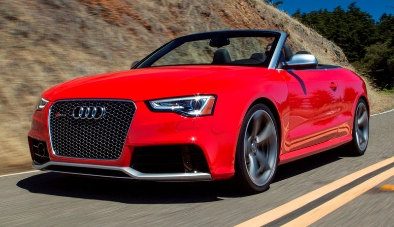 2014 Audi RS5 Cabriolet High Resolution Exterior - image 520233