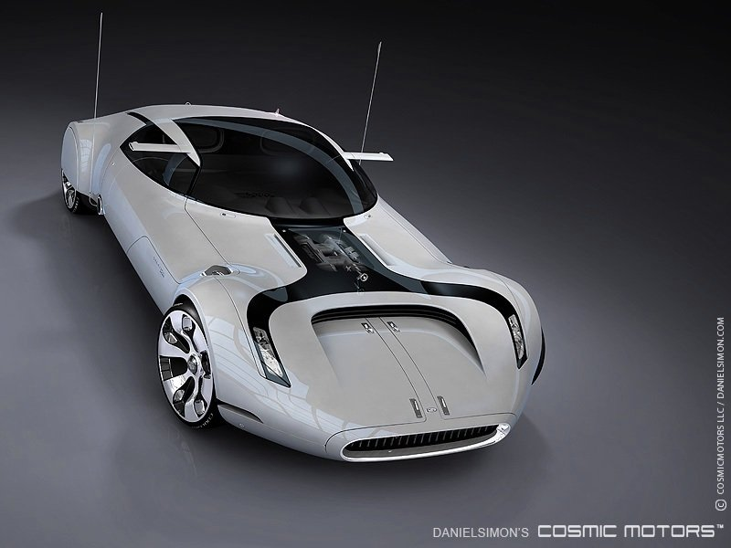 2033 Cosmic Motors Galaxion Coupe