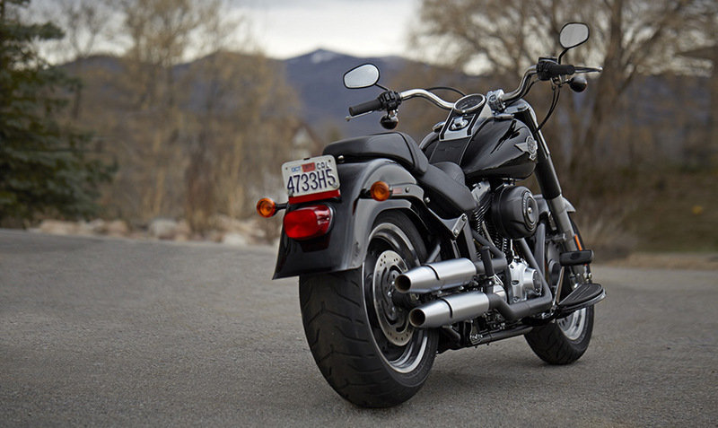 2014 Harley Davidson Softail Fat Boy Lo Exterior - image 520667