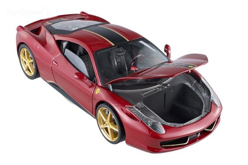 Hot Wheels Elite Gives You a Chance to Own a Ferrari 458 Italia China Edition