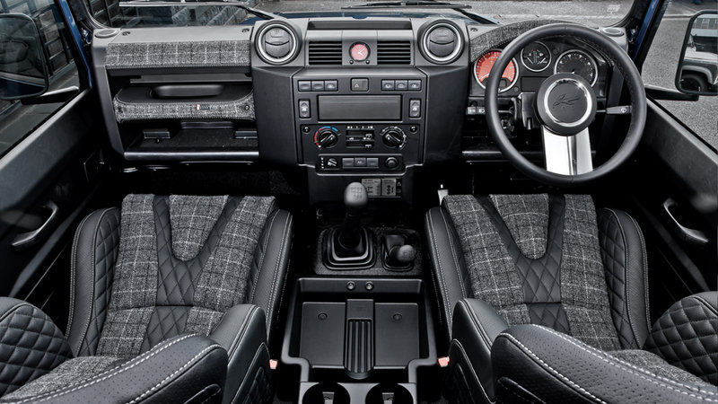 2013 Land Rover Defender 90 - Chelsea Wide Track By Kahn Design High Resolution Interior - image 519073